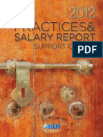 HDI 2012 Practices Salary Report