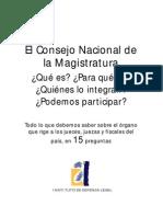 Magristratura Informacion