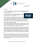 Kase Fund Ltr to Investors-Q2 14