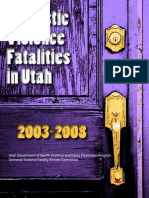 Utah Dept. of Health report on domestic violence homicides