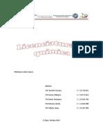 Analisis de Formulaciones