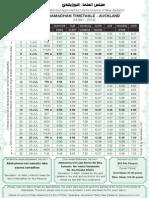1435 2014 UCNZ Ramadhan Timetable Auckland