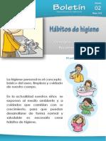 Boletin 02 - Habitos de Higiene