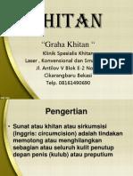 KHITAN Presentasi