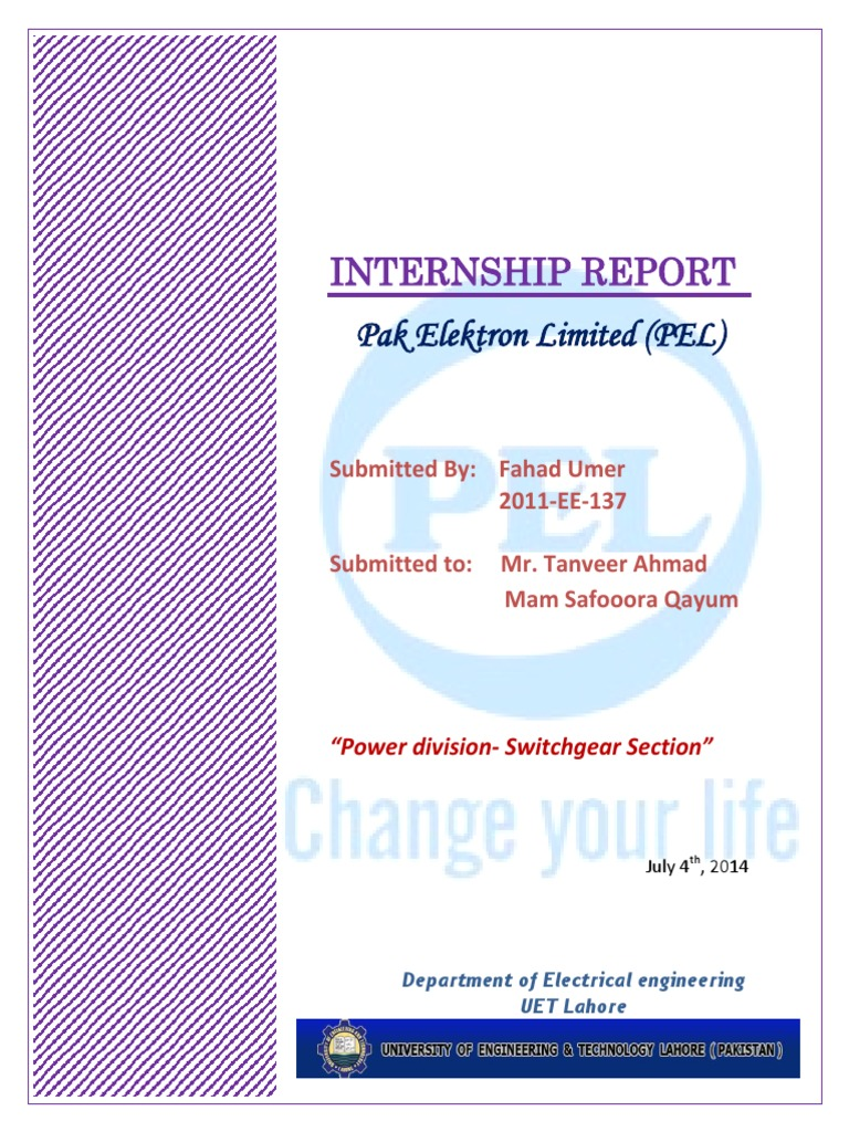 Pel internship report power division switch gearunit 1 relay pel internship report power division switch gearunit 1 relay sheet metal asfbconference2016