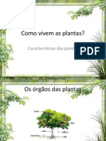 Como Vivem as Plantas