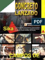 CONCRETO LANZADO - SHOTCRETE