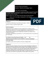Estructura y Constitucion de La Clinica Psicoanalitica