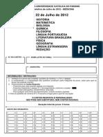 Pucpr 2012 2 Prova Medicina c Gabarito