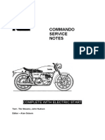 Norton Commando Service Notes