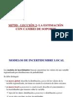 MI75D - Cambio de Soporte