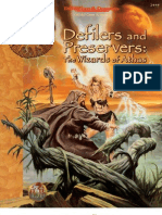 AD&D D&D 2E 2nd Ed - Dark Sun - Defilers and Preservers - The Wizards of Athas - TSR 2445 - OCR