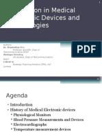 Innovation on Medical Electronics