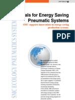 Energy Saving by SMC Pneumatic