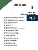 5. Aspectos de La Vida de Jesús