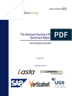 The Advanced Sourcing and Negotiation Benchmark Report