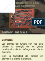 Clasificación de Las Armas