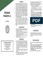 Leaflet Transfer S1 UNS 2013