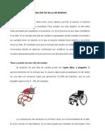 Analisis de Silla de Ruedas