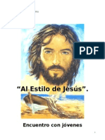 Itinerario - Al Estilo de Jesús