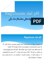 Regulación Del PH