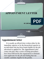 Appointment Letter ppt