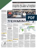 Yolanda Vaccaro-españa Pide Que No Se Pida Visa Schengen a Perú y Colombia