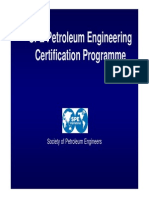 Why SPE Certification 2013