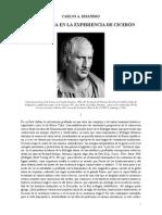 Philosophia en La Experiencia de Cicerón