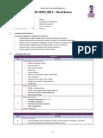 Sílabo 3 MS Excel 2010 - Básico