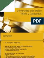 2008 06 05 Biblia y Catequesis
