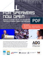 AOG Conference - Call for Speakers