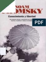 CHOMSKY, Noam. Conocimiento y Libertad.