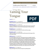 What Does the Bible Say About Taming Your Tongue