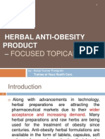 Anti-obesity Focused on External Preparation....