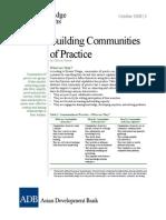 Building Communities Practice