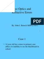 Visual Acuity & Refractive Errors