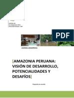 Vision de Desarrollo Sostenible de La Amazonia Peruana