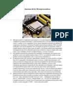 Evoluciones de Los Microprocesadores