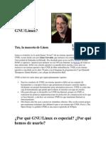 Qué Es GNU Linux