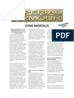 Forge World Zone Mortalis Rules
