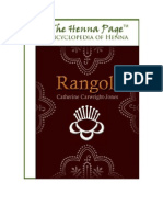 Rangoli, Elder Women Creating Sacred Geography