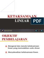 Presentation Ketaksamaan Linear