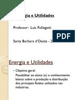 Aula 1 - Introdução - Energia e Utilidades