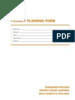 Hoja de Planificación