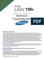 ATT i957 Galaxy Tab 10 --8.9 Spanish