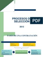 Procesos de Seleccion 2013