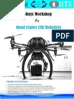 QuadCopter Workshop Proposal