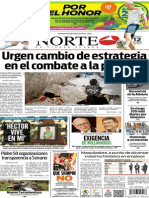 Periódico Norte edición del día 12 de julio de 2014