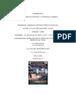 CONFERENCIA La Revolucion de La Conciencia Cosmica 2014